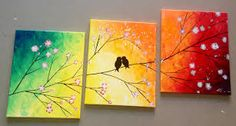 Image result for love birds painting