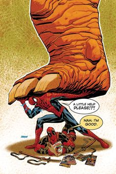 Spider-Man/Deadpool - Comics by comiXology Marvel Funny, Marvel Memes, Marvel Dc Comics, Marvel Cartoons, Deadpool Und Spiderman, Deadpool 2016, Deadpool Stuff, Fiction, Deadpool Wallpaper