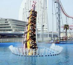 UNDER WATER ROLLER COASTER IN JAPAN | Vanish Roller Coaster in Japan Goes Underwater - TechEBlog