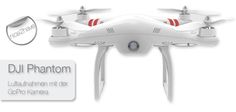 DJI Phantom Quadrokopter Dji Phantom, Gopro Camera
