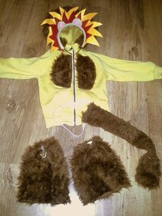 Rockin'Mum: Leeuw kostuum #carnaval   Lion costume #DIY #Halloween