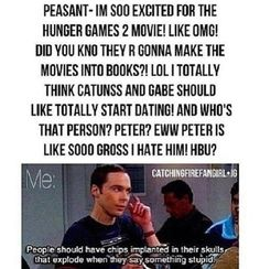 So true!!! Lol haha funny pics / pictures / Hunger Games Humor