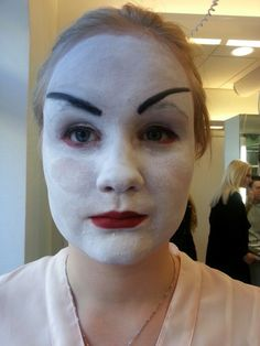 Asiatisk makeup - julia