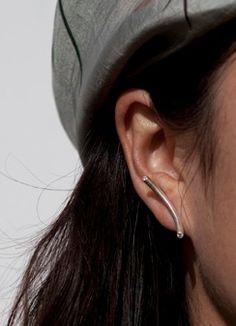 Single Arc earrings  http://antelopestudio.com/Antelope/Single_Arc_Earring.html  Love these! Elegant & lovely