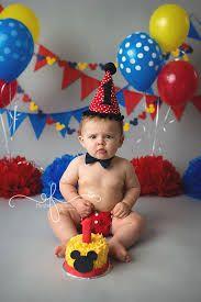 Resultado de imagen para mickey mouse 1st birthday themed photoshoot backdrop pinterest