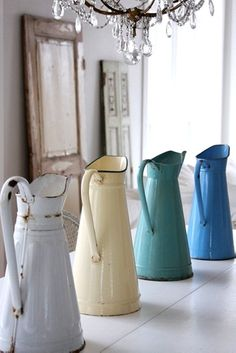 "Country Decor ""Watering Cans"""
