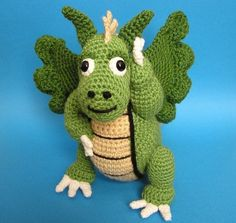 DRAGON PDF Crochet Pattern by bvoe668 on Etsy, $5.00