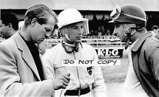 7x5 Photograph, Juan Manuel Fangio / Stirling Moss / Peter Collins  Portrait