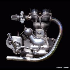 No 3: CLASSIC 500cc ROYAL ENFIELD MOTORCYCLE ENGINE | by Gordon Calder