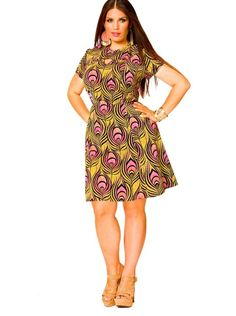 I've decided that I need the @Monif C. Plus Sizes Denise Keyhole Tennis Dress for the summer. #thatisall