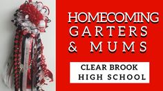 Clear Brook Homecoming Mums | Football Garters in Friendswood TX