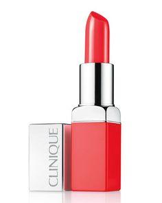 Pop Lip Colour + Primer by Clinique at Neiman Marcus.Cherry Pop