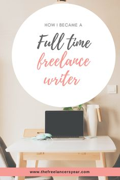 How I built up to being a full time freelance writer. Learn how I earn great money from writing articles for magazines and newspapers.