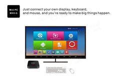 MXIII-G S812 2GB/8GB Android 5.1 1000M LAN Quad Core 4K x 2K H.265 Decoding 2.4G/5G WiFi Bluetooth 4.0 Kodi XBMC TV Box Android Mini PC Sale-Banggood.com