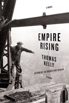 Empire Rising  This book cover actively utilizes the type as complementary element, which adds balance to the hero image. I love when typography takes a more visually active role in a composition. I think its one of the few times that most common readers may take second to appreciate the attention to detail that it takes   to skillful skew type to achieve the three dimensional effect.
