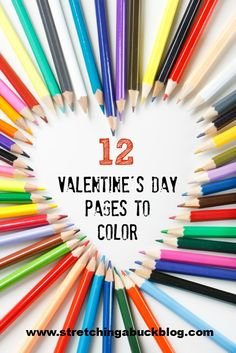 Free Valentines Day Coloring Pages for Kids