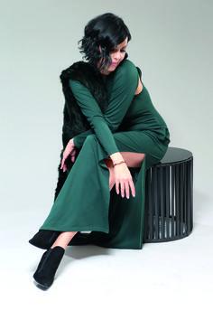 Vest Maritta, Dress Leonia | Andrea Sauter Swiss Fashiondesign | Fall/Winter 2016/2017 | Photo by Christian Postl