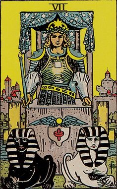 The origins of the Tarot are surrounded with myth and lore. The Tarot has been thought to come from places like India, Egypt, China and Morocco. Others say the Tarot was brought to us fr Major Arcana Cards, Tarot Major Arcana, Ivan Cruz, The Chariot Tarot, Rider Waite Tarot Cards, Tarot Waite, Rose Croix, Tarot Gratis, Free Tarot Reading