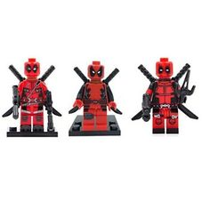 #Christmas How do I get LipstickIndy® 3PCS Brand New DEADPOOL Red Suit Minifigure Superhero Action Figure for Christmas Gifts Idea Promotion . As soon as looking for some sort of Christmas  items, regardless of whether or not it's pertaining to the puppy — you can in which friend, colliege as well as member of the family. Yet actually with...