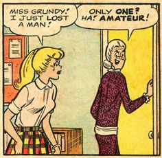 Betty and Miss Grundy