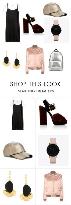 """<3"" by alexandriamcbride on Polyvore featuring Prada, GUESS, CLUSE, Marni, Yves Saint Laurent and 3.1 Phillip Lim"