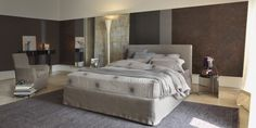 Notturno Shabby Chic http://www.flou.it/it/collections/mood2015/notturno #flou #letto #bed #beds