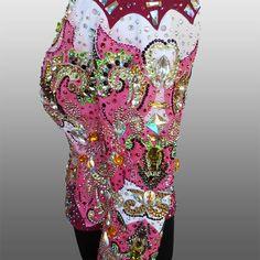 """Torn"" Showmanship Jacket, custom made for Francesca Romana Faro  http://www.lacollezionedianna.com/posts/torn"