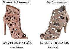 Sonho de Consumo: Sandália com Recortes