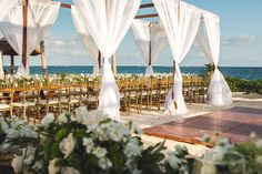 Create a night you will never forget with a reception by the water! #BreathlessRivieraCancun #Mexico #DestinationWedding