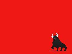 Abstract Bull