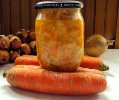 Ja jem – blog kulinarny ze smakiem: Sałatka z białej kapusty i czosnku na zimę