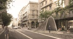 new takes babelstudio's eleva reveals metro entrance in san sebastian - designboom