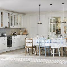 Kuchnia w stylu skandynawskim. Dużo ładnych zdjęć Kitchen Island, Home Decor, Island Kitchen, Decoration Home, Room Decor, Home Interior Design, Home Decoration, Interior Design
