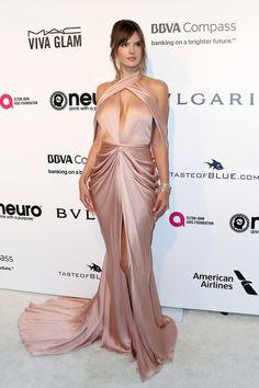 Alessandra Ambrosio Photos Photos - 25th Annual Elton John AIDS Foundation's Oscar Viewing Party - Arrivals - Zimbio