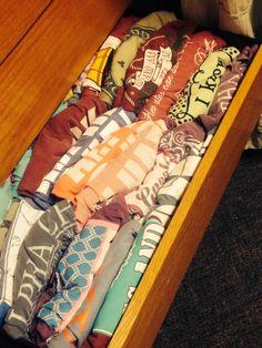 The rush tee drawer. TSM.