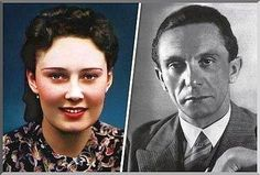 #1.) At one stage Goebbels wanted to leave his wife Magda for Lida Baarova. But Hitler intervened and broke the love affair. The Third Reich could not afford such scandals. Here is the story of love and lust in Nazi Germany. The affair between actress Lida Baarova and Joseph Goebbels.