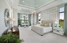 Luxury home designs by Beasley & Henley Interior Design. #master bedroom design ideas