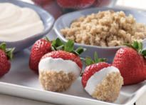 Delicious recipes featuring Daisy Brand® Sour Cream - Love strawberries with Daisy and Brown sugar...I like the idea of adding orange juice...yum