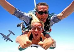 Skydiving. Must do!
