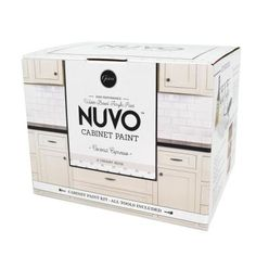 Nuvo Driftwood 1 Day Cabinet Makeover Kit Nuvo Driftwood 1 Day Cabinet Makeover Kit Product DescriptionDon't just live with your outdated kitchen cabinets, love them! Nuvo Cabinet Paint is a simple DIY cabinet makeover process that requires no cabinet re