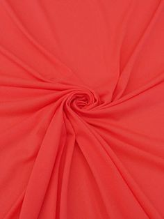 New Arrival! Neon Coral Pink Poly/Lycra Swimwear Knit Lining 64W