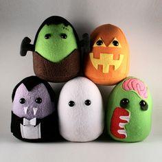 Halloween Monster Plushies