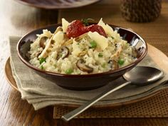Mushroom risotto is one of the most delicious variations on the traditional risotto recipe. This mushroom risotto recipe is prepared by adding hot stock to arborio rice and ...