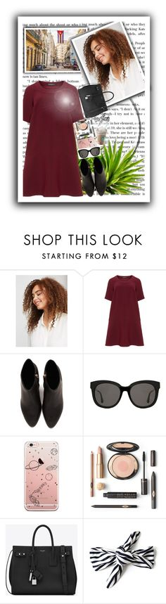 """Celebrate Our 10th Polyversary! follow"" by marii-96-1 ❤ liked on Polyvore featuring Violeta by Mango, Manon Baptiste, Alexander Wang, Gentle Monster, Yves Saint Laurent, polyversary and contestentry"