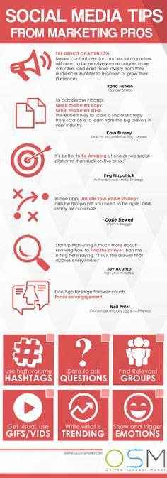 Social Media Tips #socialmediamarketingtips
