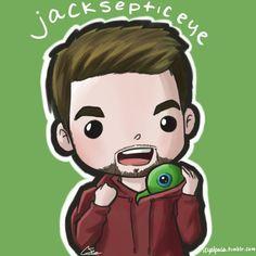 Jacksepticeye FanArt by TiniTokki on DeviantArt #jacksepticeye