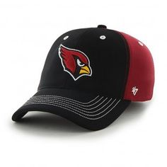Arizona Cardinals NFL Carson Stretch Hat (Black)