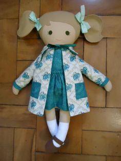 Fabric Rag Doll