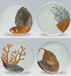 Aquarium Dishware by Caskata | Gracious Style