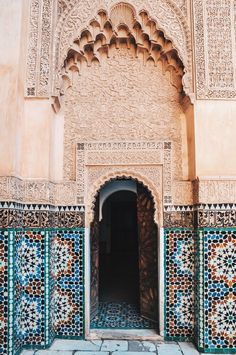 Beautiful Door In Marrakech